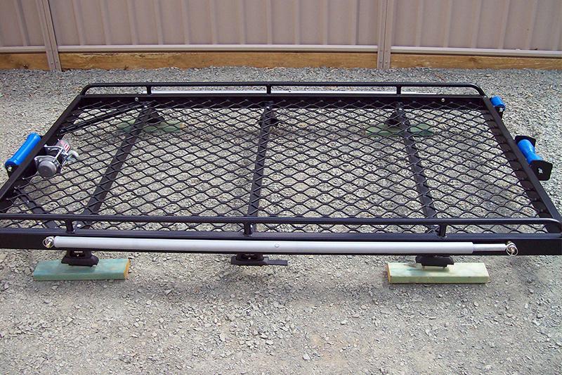 Aluminium-rack